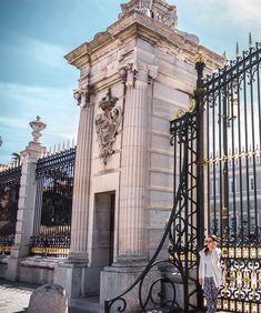 Blinded by those incredible Royal Palace views in Madrid, Spain