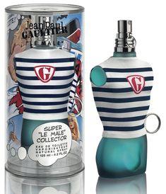 Blue Perfume, Chanel Perfume, Cosmetics & Perfume, Perfume Bottles, Perfume Packaging, Cosmetic Packaging, Jean Paul Gaultier, Parfum Gaultier, Perfume Jean Paul