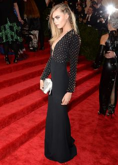 This is such an edgy dress and I love it. Cara is perfection