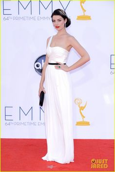Jessica Pare in Jason Wu - Emmys 2012 Red Carpet