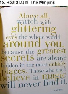 Believe In Magic Quotes From Childrens Books Children Book Quotes Best Quotes From Books