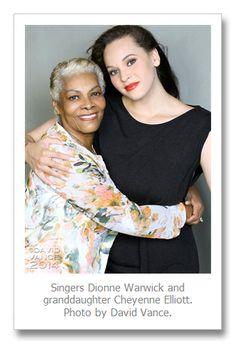 David Vance photographs legendary singer Dionne Warwick and her granddaughter, Cheyenne Elliott