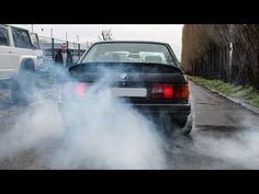 In this video a compilation of Bmw we saw the last years. A lot of burnouts, slides, revs and some flames. Bmw E30, Youtube, Youtubers, Youtube Movies