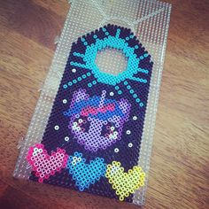 MLP Twilight Sparkle door hanger hama beads by minonna