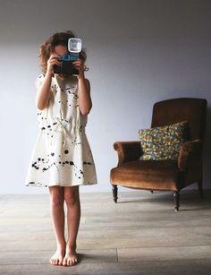 cool spatter paint dress