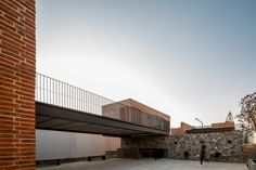 Completed in 2016 in Zapopan, Mexico. Images by César Béjar. Casa G is a family rest house, with a game room and a terrace to host the owner's social activities, located in the northwest area of Zapopan, on a. Rest House, Minimal Architecture, Walkway, Game Room, Bungalow, Minimalism, Stairs, Urban, Stone
