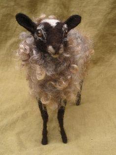 Bessys DIY Tutorial — Needle felted sheep.
