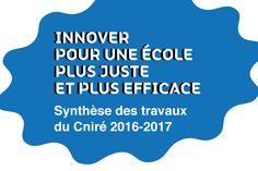 3ème Rapport du Conseil national de l'innovation pour la réussite éducative  , mercredi 29 mars 2017.