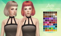 Aveira's Sims 4, LeahLillith Night Vision - Retexture 70 Colors ...