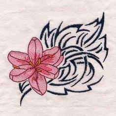 This free embroidery design is a tribal flower. So pretty! Sewing Ideas, Sewing Patterns, Thread Painting, Dream Machine, Free Machine Embroidery Designs, Free Sewing, Brother, Butterfly, Graphics