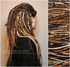 Tribal dreads :: Eagle Set || Merry's Synthetic Dreads