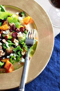 fall harvest salad | perpetually chic