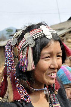 Akha woman, North Laos (Province d'Oudom Xay) © Jean Louis Potier