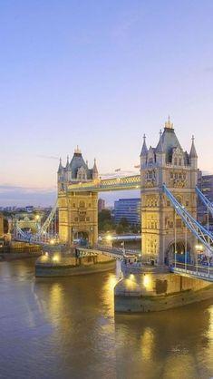 Tower Bridge, Londres; Inglaterra #Europa