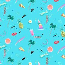 Weekly dose of new artwork from Yoko Honda Hawaiian Background, Retro Background, Tropical, Iphone Wallpaper Vaporwave, Chinoiserie, Animation 3d, Conversational Prints, Vaporwave Art, Memphis Pattern