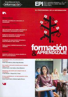 COMUNICACIÓN E INFORMACIÓN (El profesional de la información : Vol. 222, N° 6, noviembre-diciembre de 2013) Revisa la tabla de contenido: http://www.elprofesionaldelainformacion.com/index.html