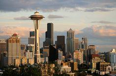 Seattle Skyline #1 - http://www.1pic4u.com/blog/2014/09/07/seattle-skyline-1/