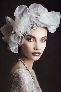 Headpiece. Claire Pettibone 2015 Bridal Collection.