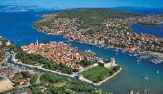 Kroatien - Blick auf Trogir