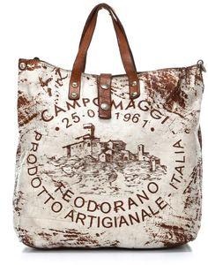 ba4bb9d044dd Campomaggi Lavata Teodorano Handtasche glattes Leder weiß - ShopStyle.de