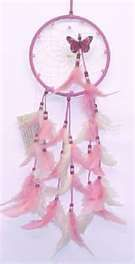 Native American Pink Dreamcatchers