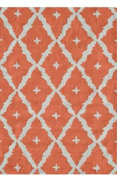 The Rug Market Pop Accents Tangier Orange Rug