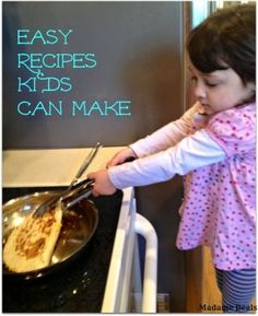 Easy Dinner Recipes for Kids - I should be able to do it, too.