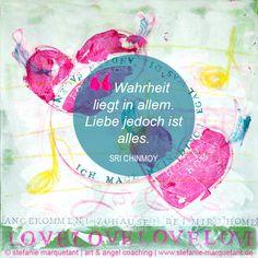 Päckchen Nr. 15 #AdventsKunstKalender: Hattest du heute schon (d)einen liebe-vollen Moment? Wie liebe-voll denkst & fühlst du über dich und über andere?  »Wahrheit liegt in allem. Liebe ist alles.« SRI CHINMOY  www.stefanie-marquetant.de/2014/11/30/advent-kunst-kalender-verlosung/