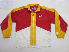 NFL Kansas City Chiefs Windbreaker by Starter, Men's XL #Starter #KansasCityChiefs