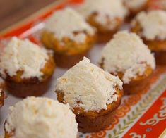 Mini Carrot, Orange and Poppy Seed Muffins
