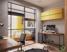 MyHousePlanShop: Contemporary Asian House Designed With A Beautiful Balcony And Modern Interior Views Asian House, Green House Design, Modern Interior, Interior Design, Latest House Designs, Urban Loft, Open Layout, Home Decor Paintings, House Windows