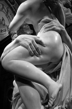 The Rape of Proserpina - by Gian Lorenzo Bernini completed in 1622 when Gian was just 23 years old. On display at the Gallery Borghese, Rome, Italy. Proserpina is the daughter of Ceres and Jupiter, She was worshipped as Goddess of Fertility and was said to be responsible for the Change of Seasons.