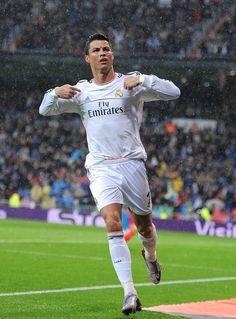 Cristiano Ronaldo A living legend.
