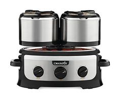Crock-pot SCCPTOWER-S Swing and Serve Slow Cooker, Stainless Steel – KITCHEN APPLIANCES