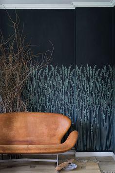 Feather Grass wallpaper by Farrow & Ball. Just stunning.