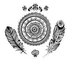 Resultado de imagen para mandala dreamcatcher tattoo