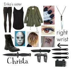 """Creepypasta Proxy (Oc)"" by ironically-a-strider21 ❤ liked on Polyvore featuring Paige Denim, ATM by Anthony Thomas Melillo, INC International Concepts, women's clothing, women, female, woman, misses and juniors"