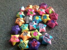 Hermosas estrellas de colores y diversion