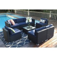 Outdoor Wicker Furniture, Patio Furniture Sets, Garden Furniture, Outdoor Decor, Furniture Sale, Furniture Makeover, Garden Sofa Set, Rattan Sofa, Sectional Sofa