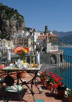 "Gluten Free Amalfi - Card download -- ""Senza glutine"" (SEN-zah GLOO-tin-ay)."