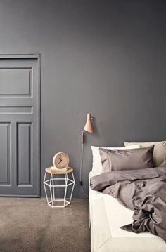 Bedroom - Color and floor - The New Bolia 2015 Collection Home Bedroom, Girls Bedroom, Bedroom Decor, Bedroom Colors, Bedroom Ideas, Bedroom Lighting, Bedroom Wall, Grey Bedrooms, Design Bedroom