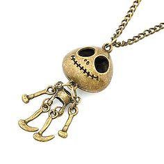 Colar+Vintage+em+Cobre+-+Esqueleto+–+BRL+R$+8,00
