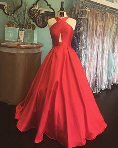 Charming Prom Dress, Sleeveless A Line Evening Dress,