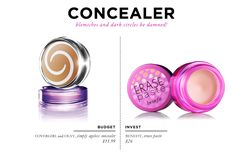 18 Beauty Essentials for The Everygirl: Concealer // Covergirl & Olay Simply Ageless Concealer $11.99 // Benefit Erase Paste $26