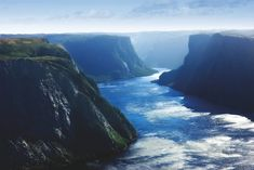 As one of Canada's largest national parks, Gros Morne National Park is fairly unknown by tourists. It's a shame because the Newfoundland coastline . Newfoundland Canada, Newfoundland And Labrador, Gros Morne, Atlantic Canada, Park Around, Beautiful Islands, Wonders Of The World, Places To See, Tourism