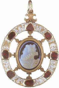A cameo of Elizabeth I by an unknown artist, circa 1575-90. British Museum, London.