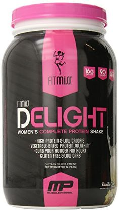 Finally. A nutrition shake for women that satisfies hunger while providing real results. #FitMiss Delight brings a full day's essential nutrients with quality ca...