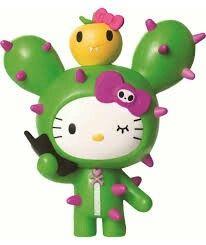 Hello Kitty cactus by Tokidoki