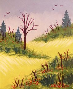 """Country Hills"" - #paintnite"
