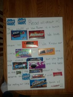 ... mothers day on Pinterest | Love signs, Candy bars and Candy board